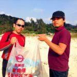 沖縄恩納村ビーチクリーンボランティア活動報告201603