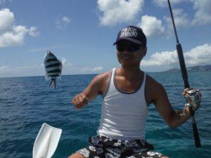 大家さんと釣り体験 ターネーラー
