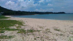 綺麗になった恩納村名嘉真のビーチ