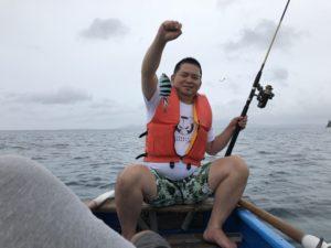 民宿★美ら海くん!の釣り体験