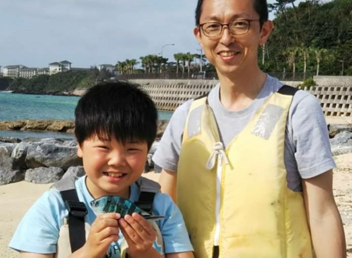 親子で宿泊&釣り体験