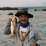 大手保険会社のお客様 42cmのタマンを釣り上げました!